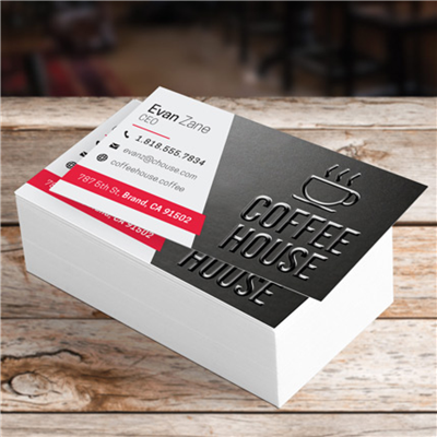 BUSINESS CARDS - Raised Spot UV
